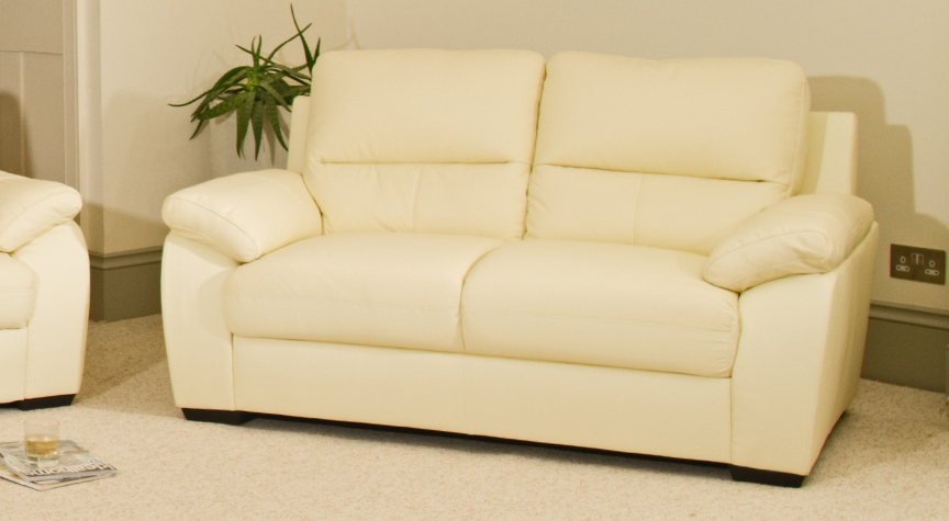 Malvern 2 seat sofa cream