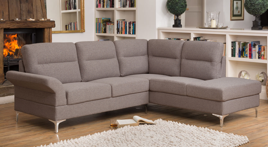 Marlowe Corner Suite Dark Grey