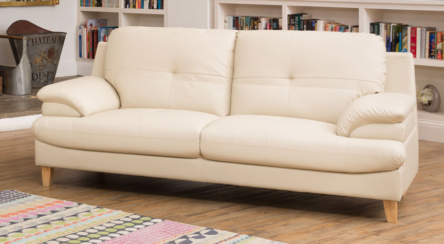 Marsden 3 Seat Sofa Cream