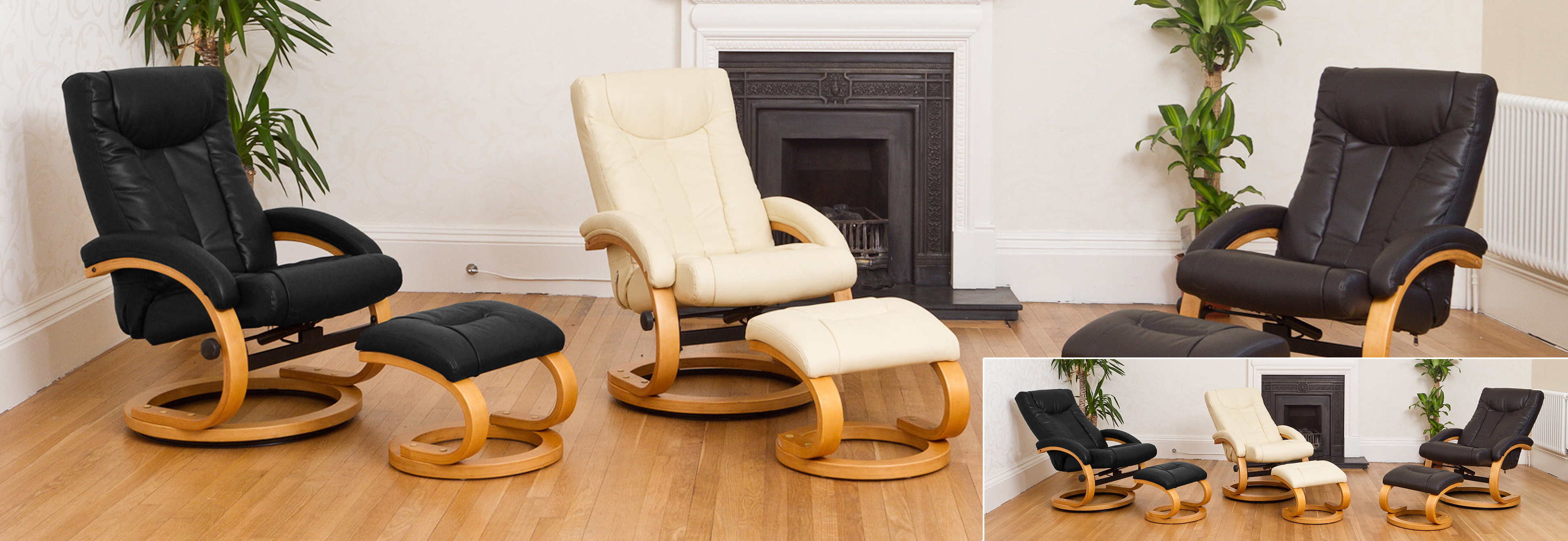 Montague Massage and Heat Swivel Recliner brown