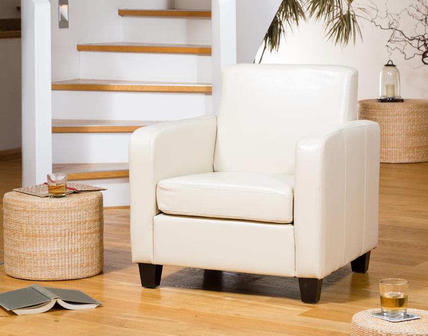 Nelson armchair cream