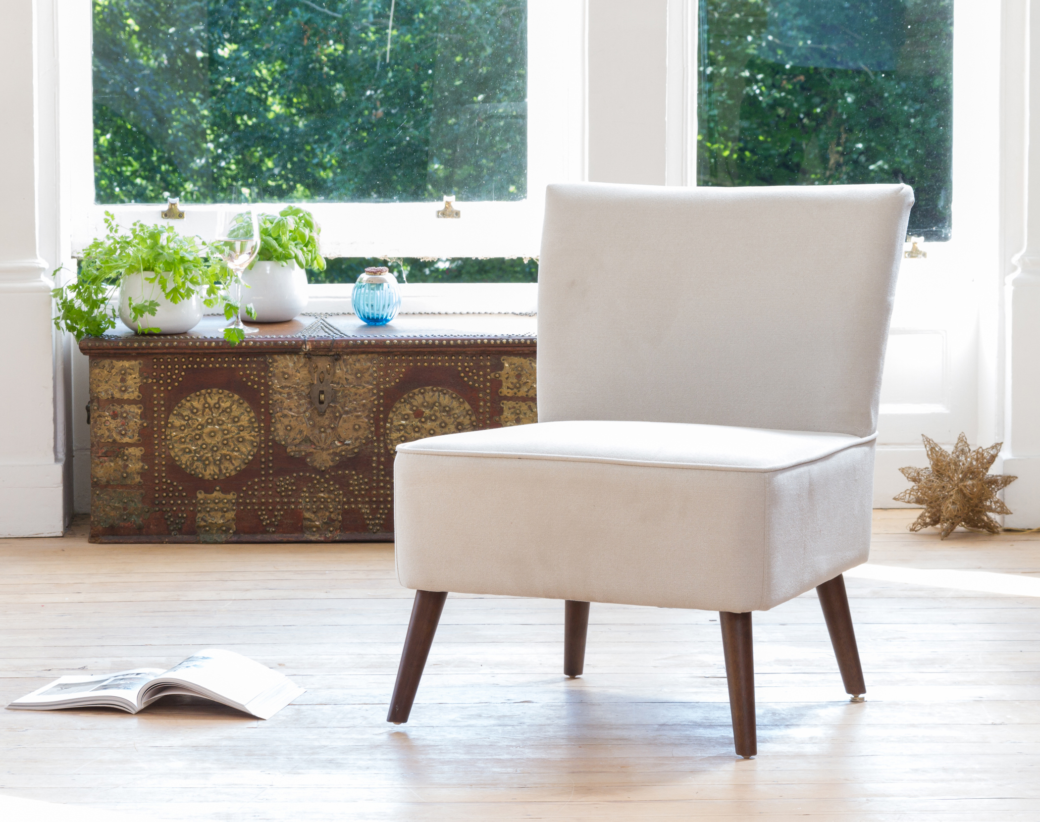 Newbury Accent Chair beige