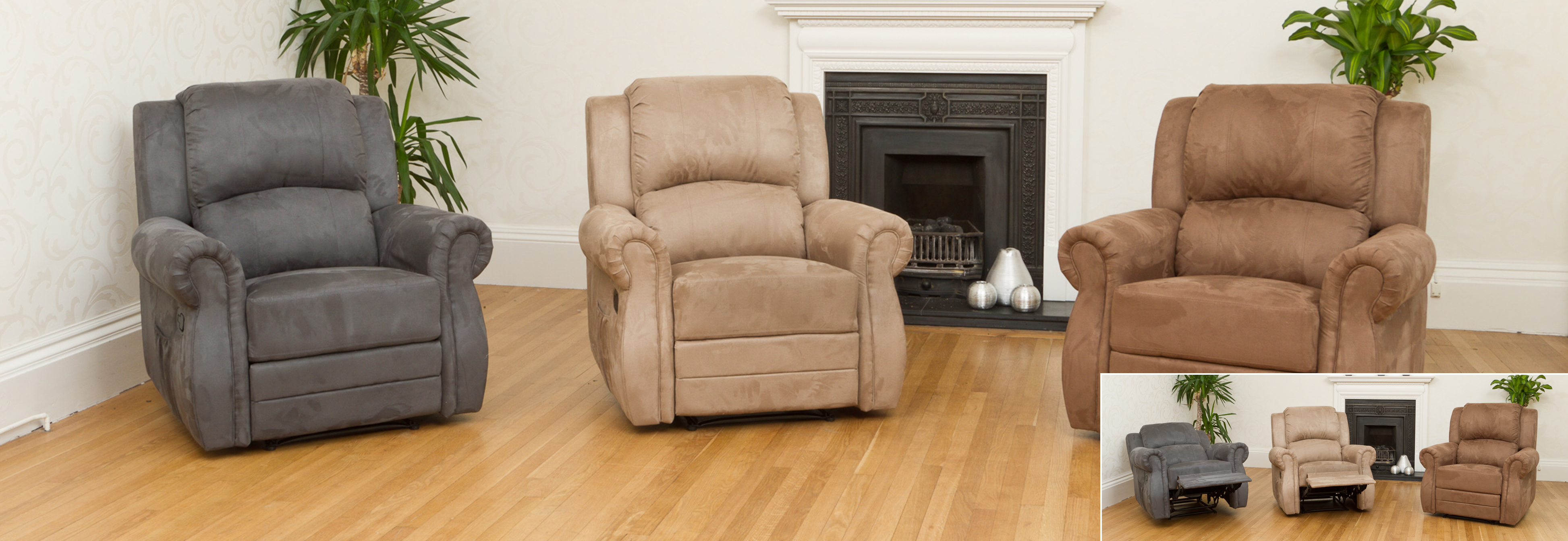 Ormonde Recliner light brown