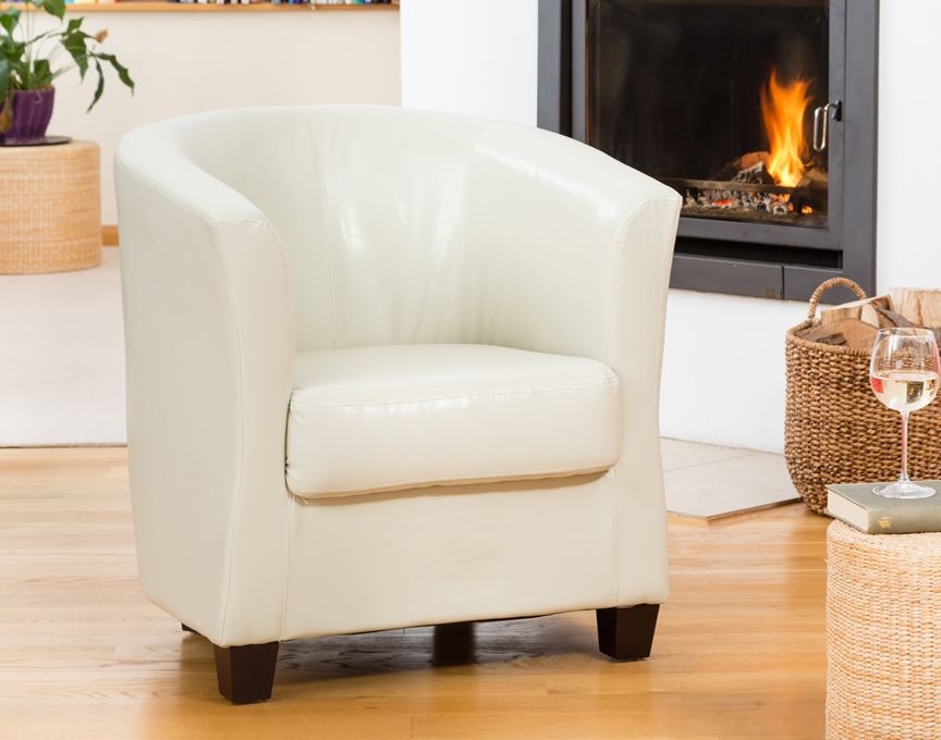 Pelham tub chair cream