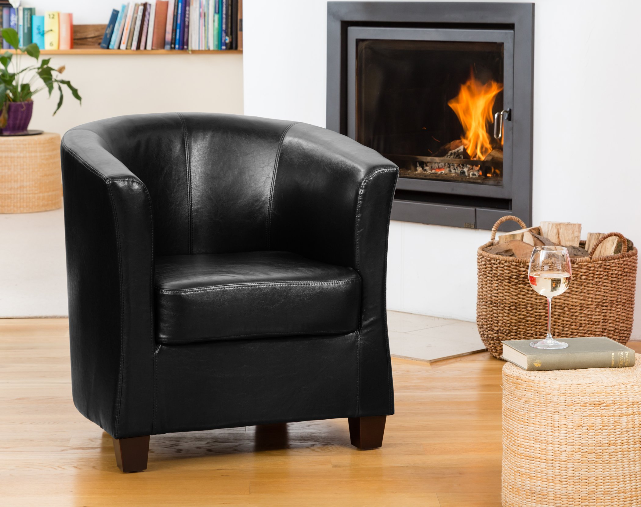 Pelham Tub Chair Black