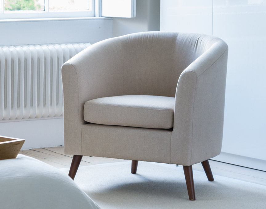 Risborough tub chair beige
