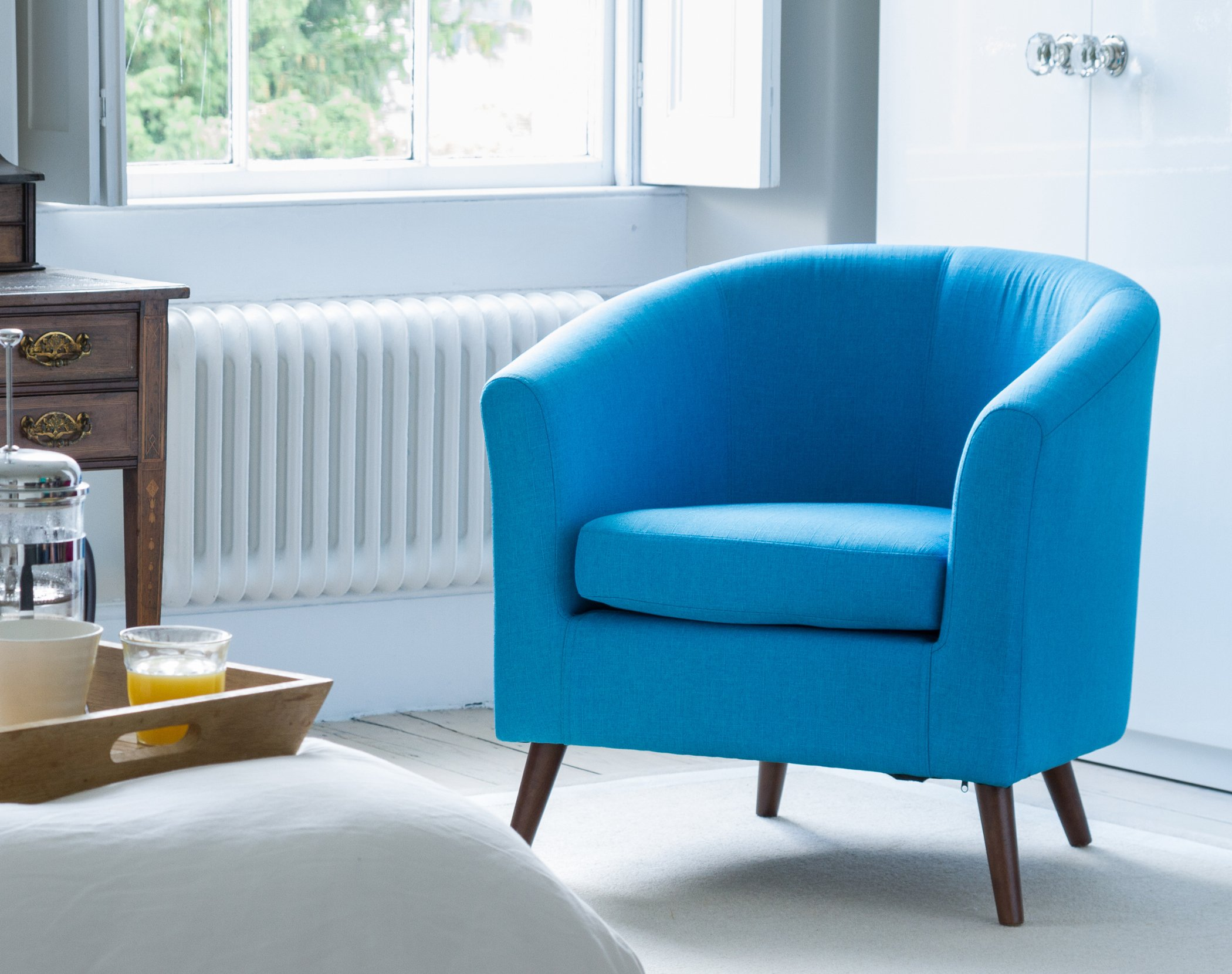 Risborough Tub Chair bright blue