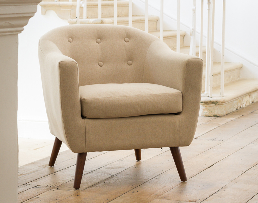 Shepton tub chair sand