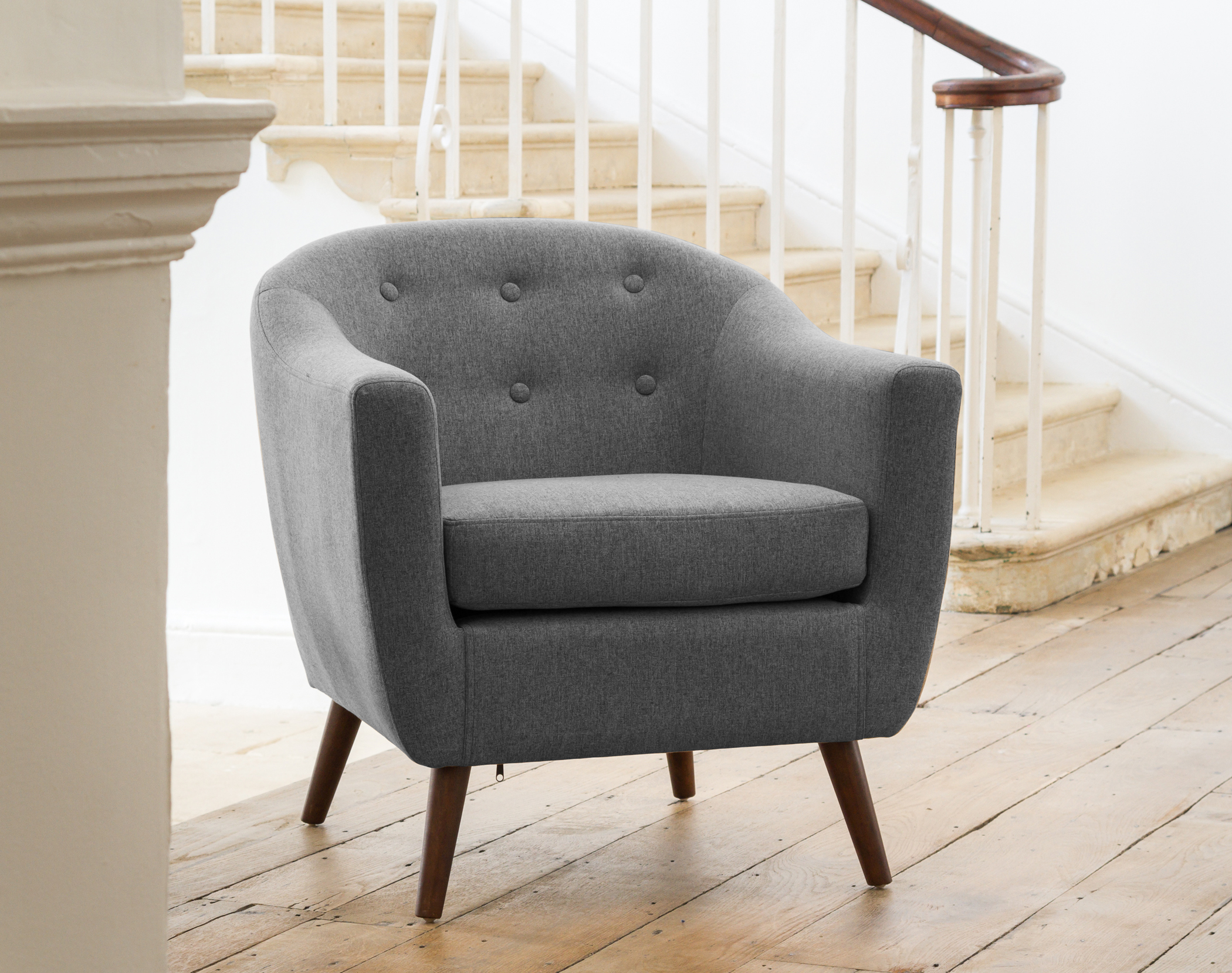 Shepton Tub Chair grey