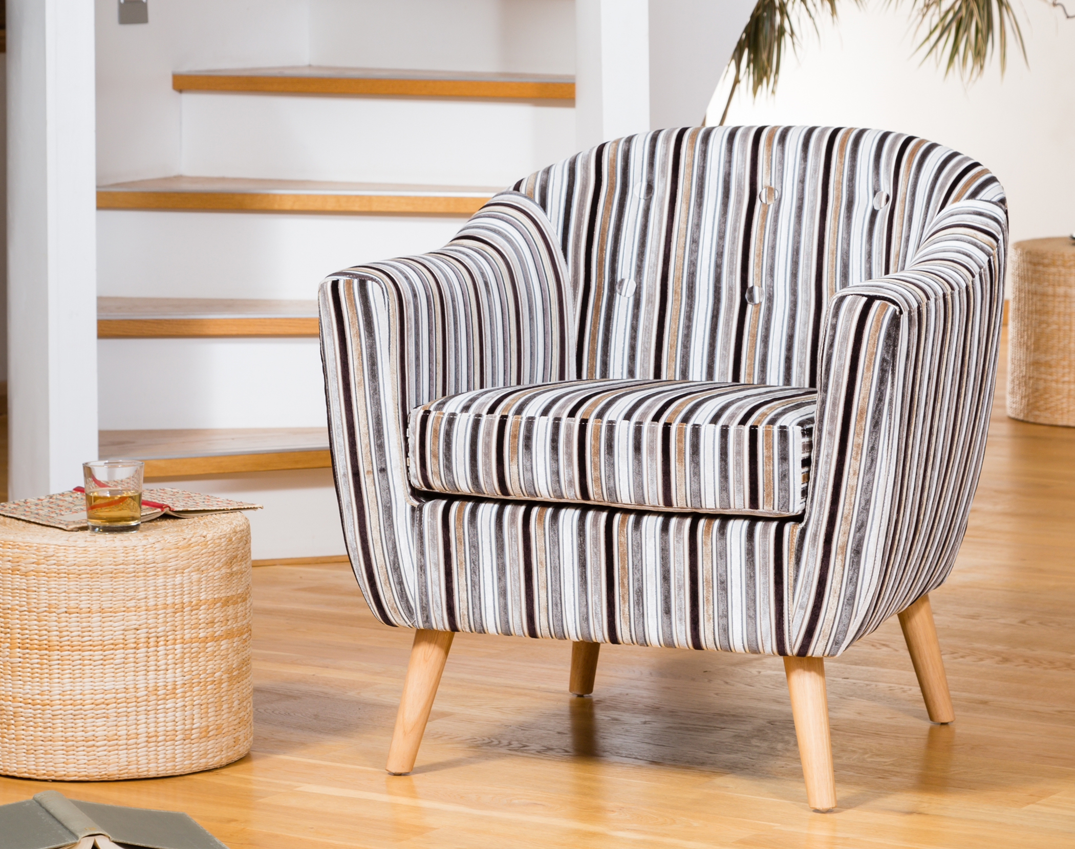Sherston Tub Chair grey