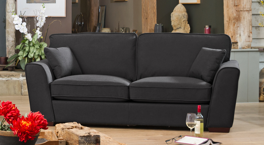 Somerset 3 seat charcoal
