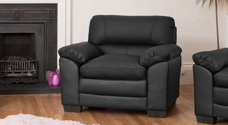 Sotherby armchair black