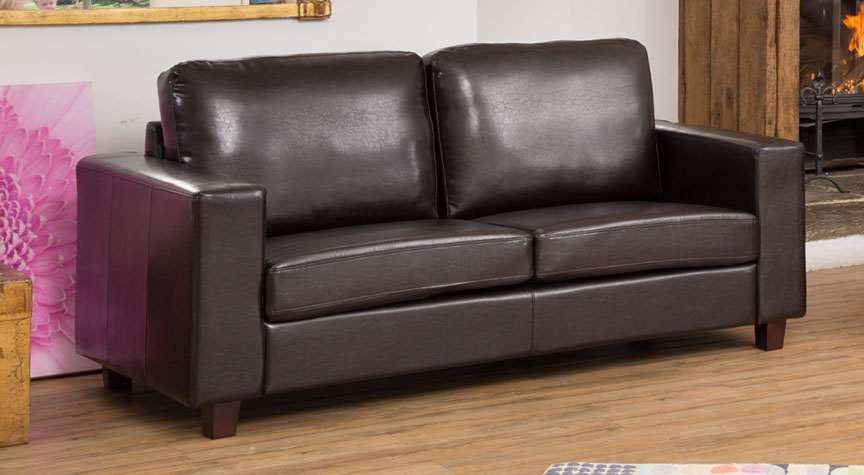 Stoneleigh 3 Seat Sofa Brown
