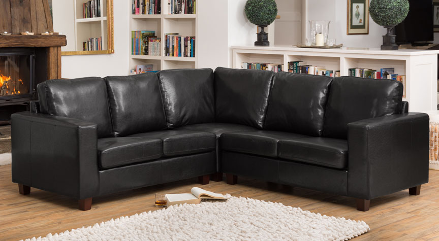 Stoneleigh Corner Sofa Black