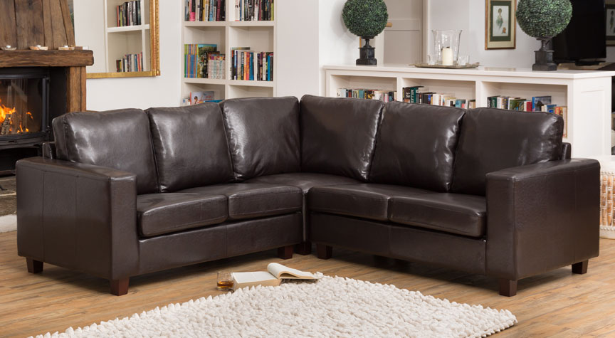 Stoneleigh Corner Sofa Brown
