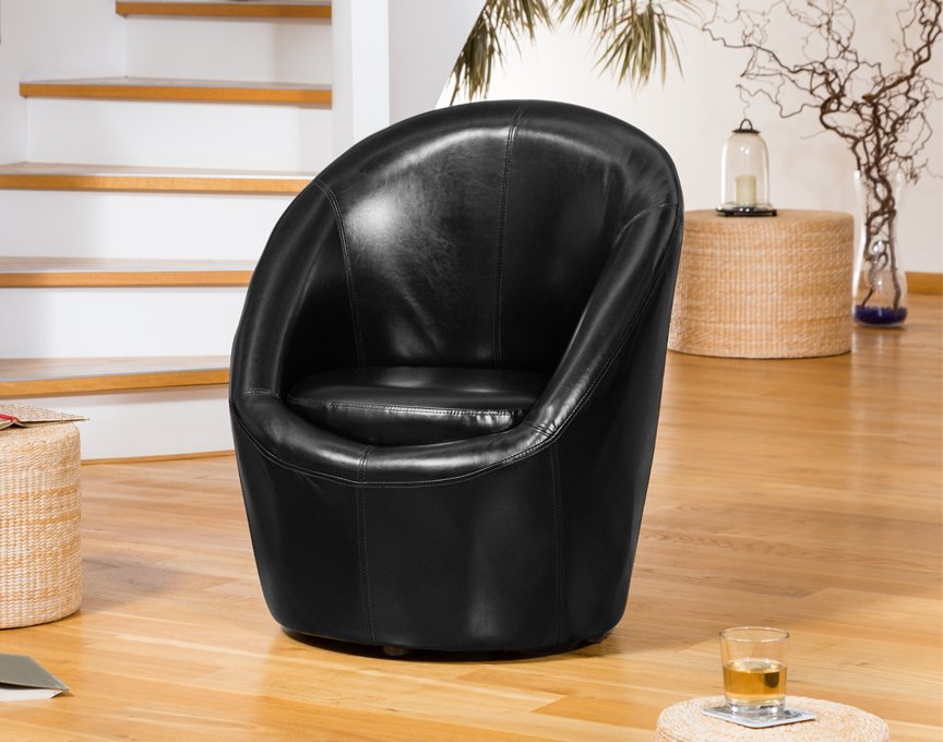 Vernon tub chair black
