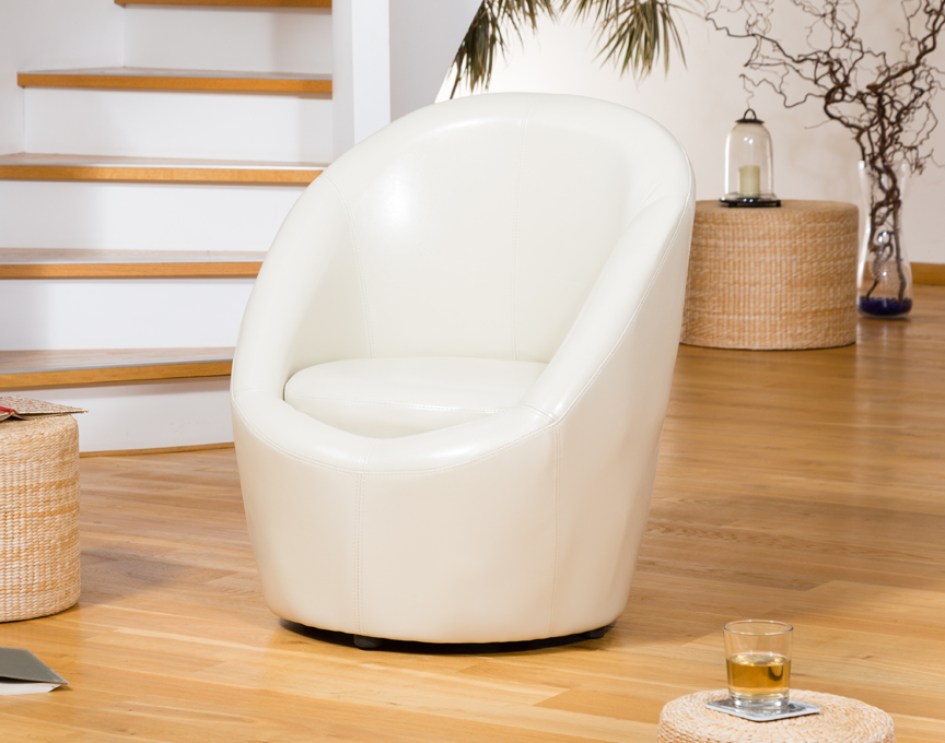 Vernon tub chair cream