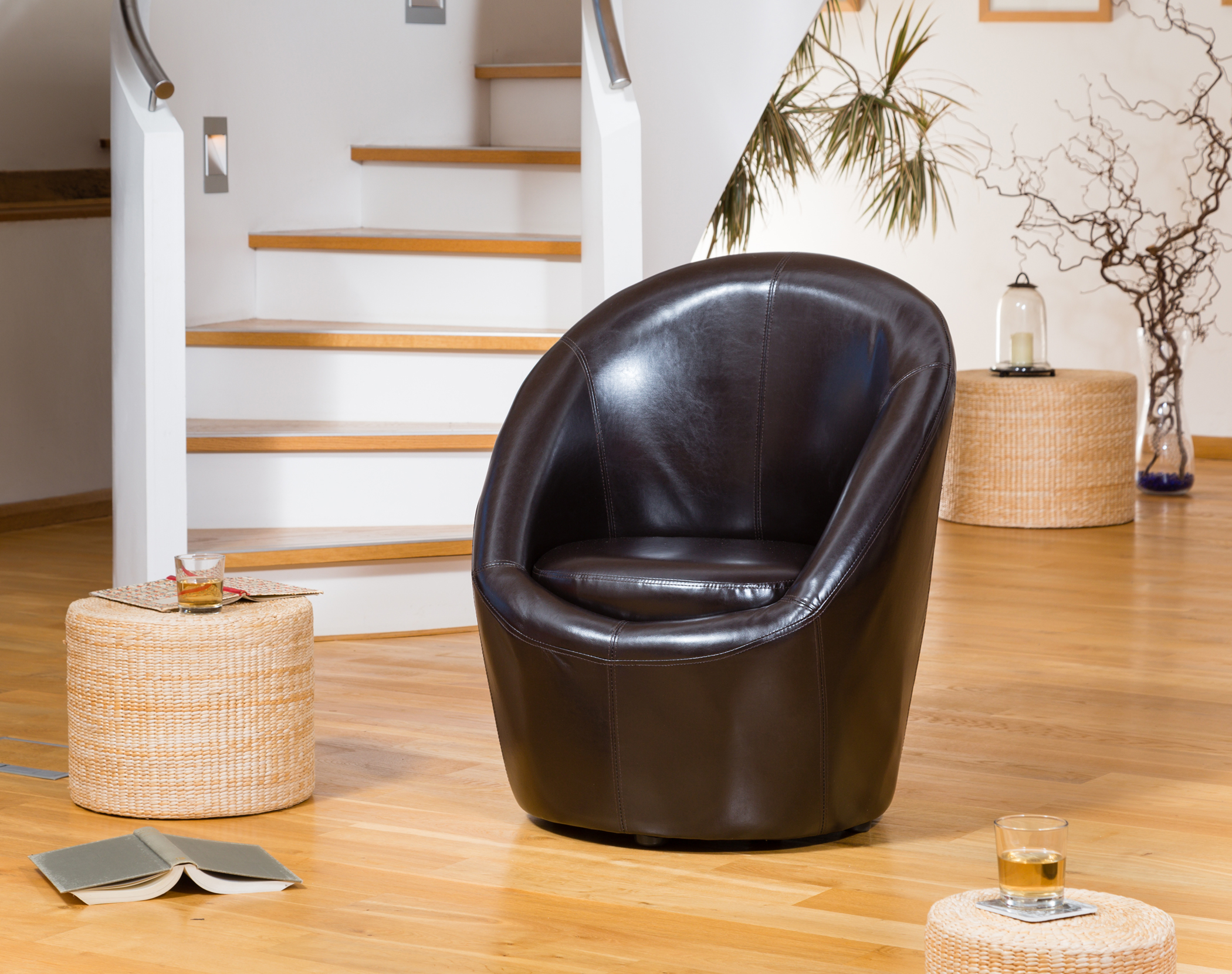 Vernon Tub Chair brown