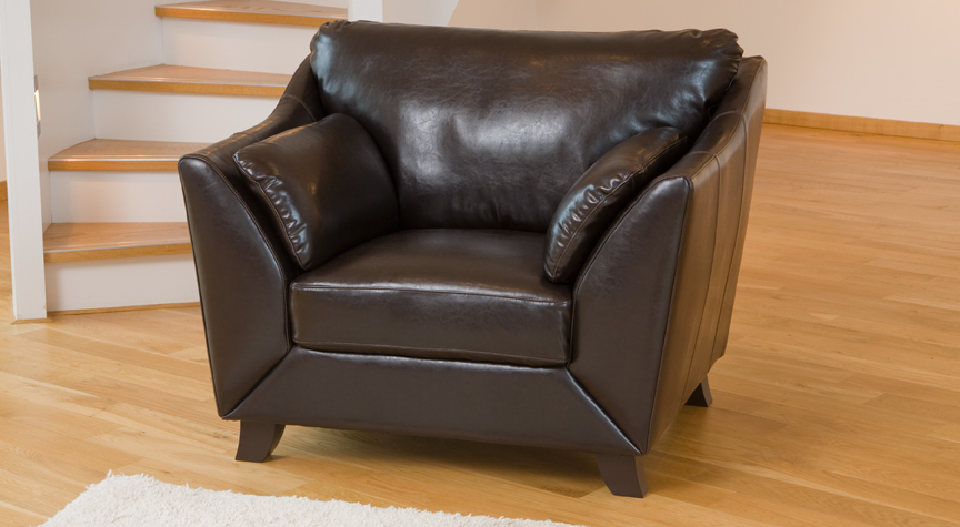 Verona armchair brown