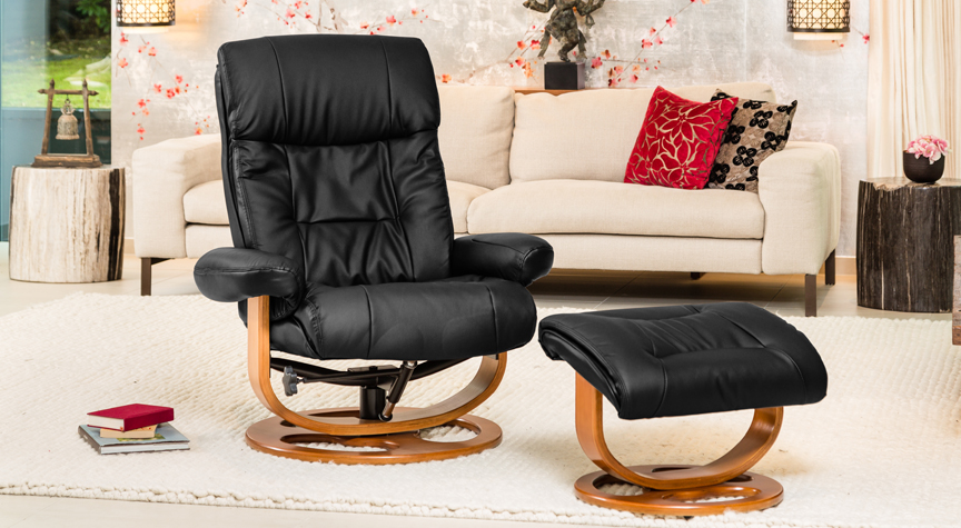 Waddington Swivel Chair Black