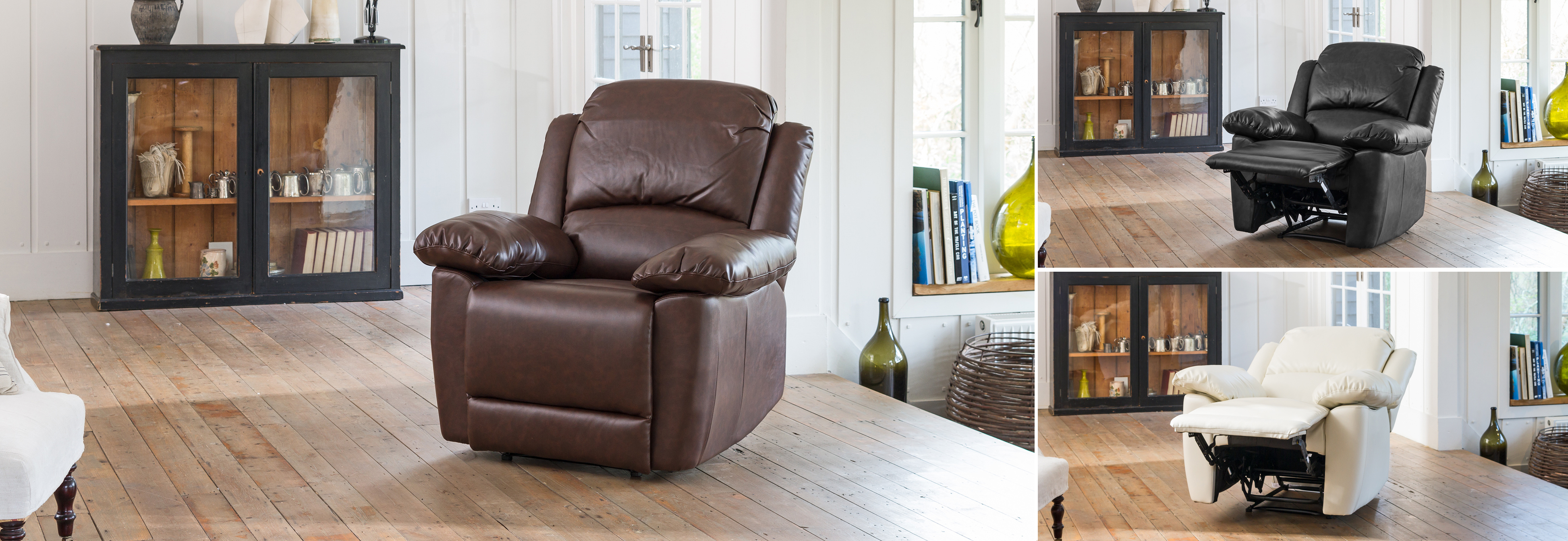 Wilton Reclining Chair brown
