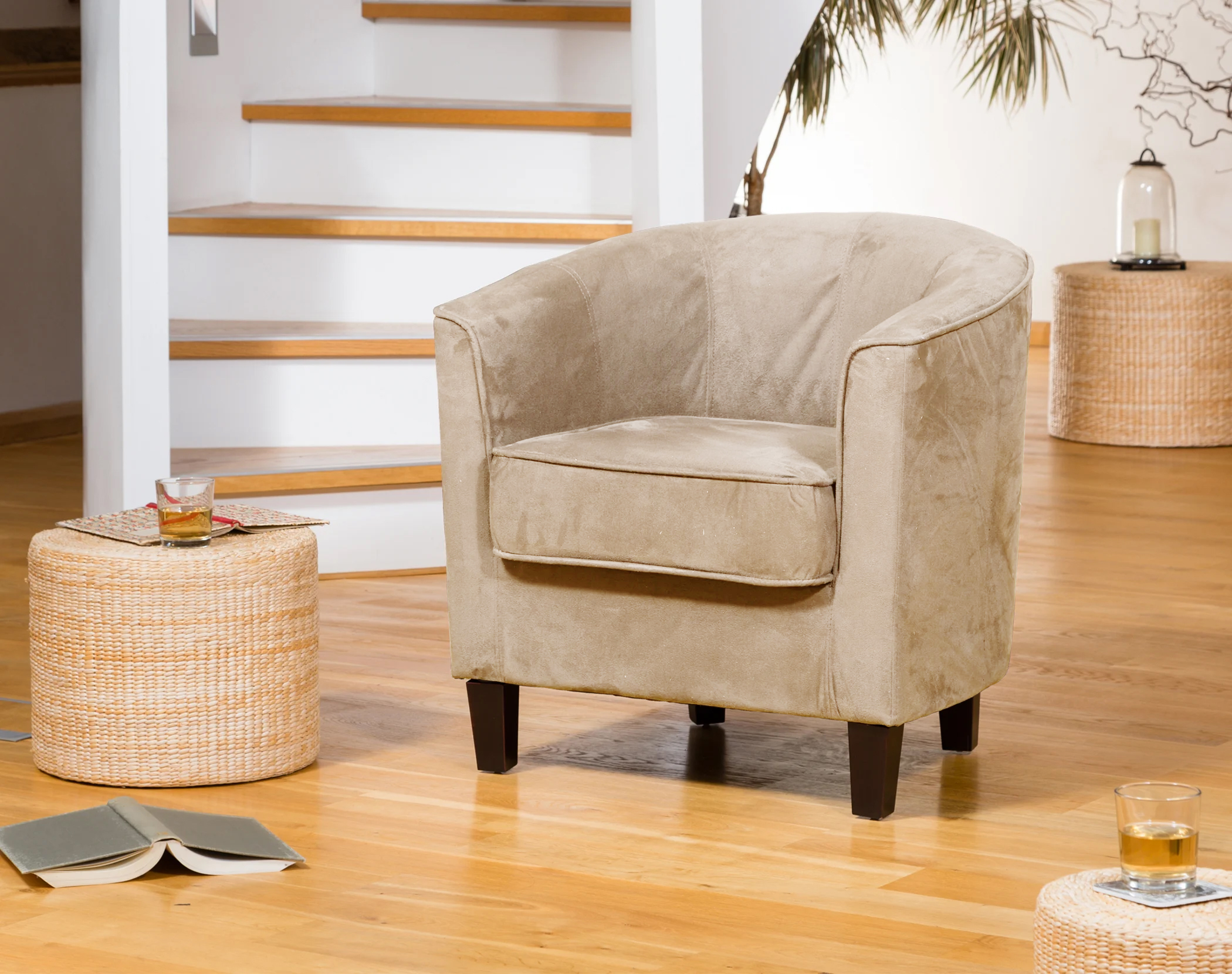 Winslow Tub Chair cappuccino