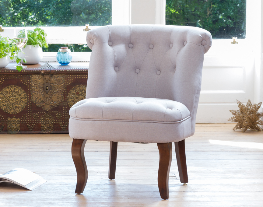 Wolverton accent chair blue grey