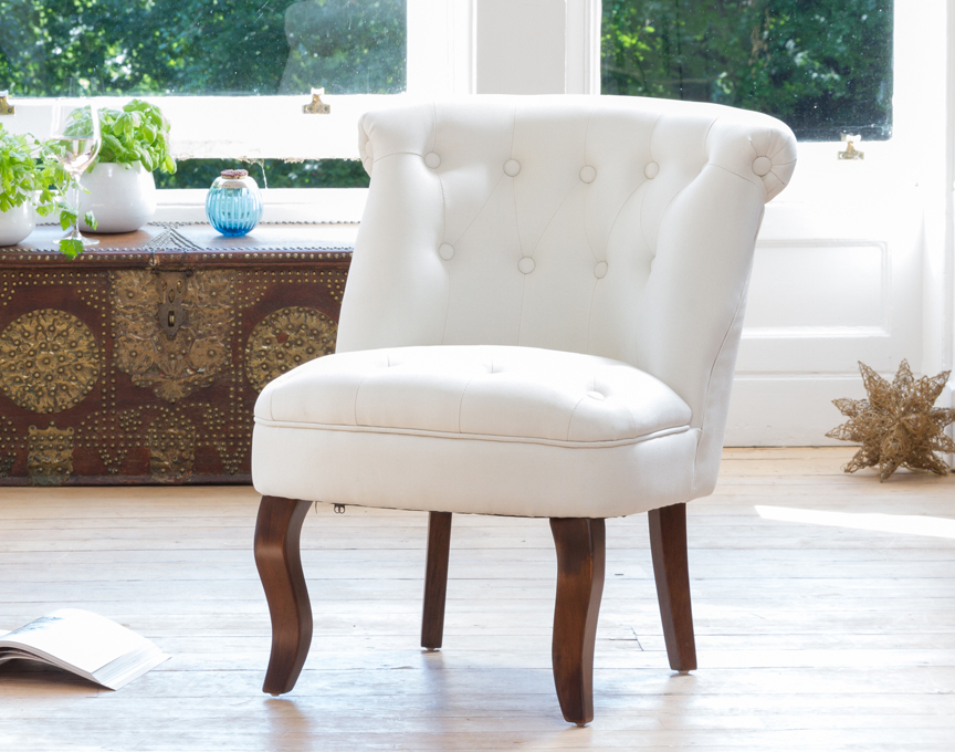 Wolverton accent chair cream