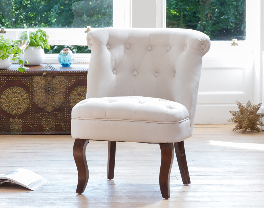 Wolverton accent chair dark beige