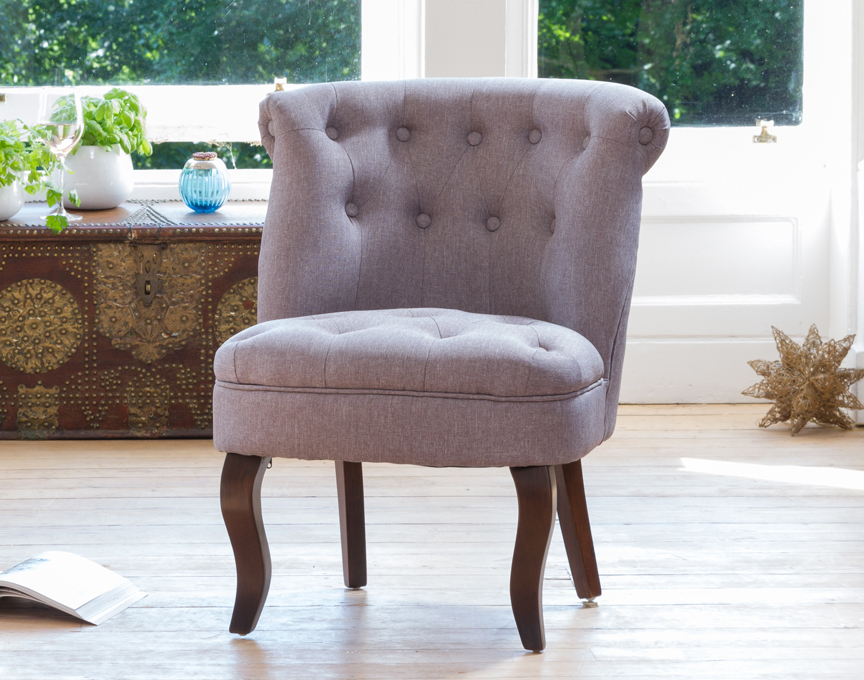 Wolverton accent chair medium grey