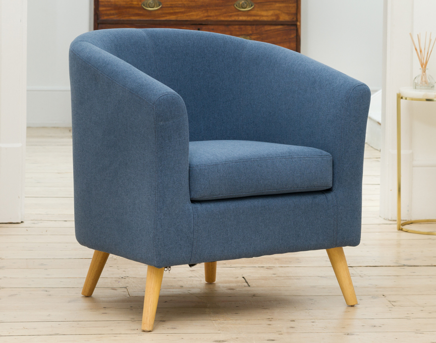 Wycombe tub chair blue