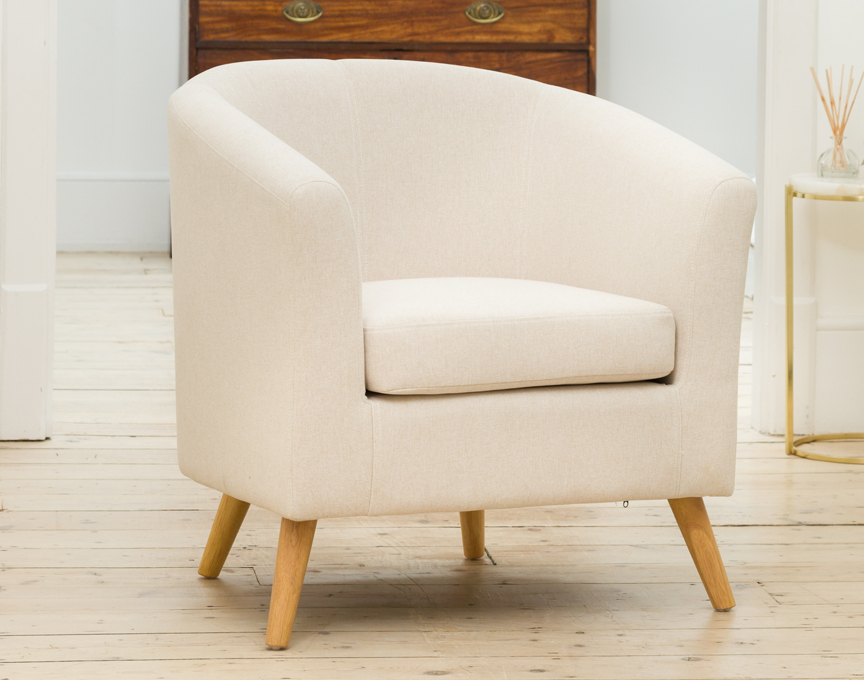Wycombe tub chair cream