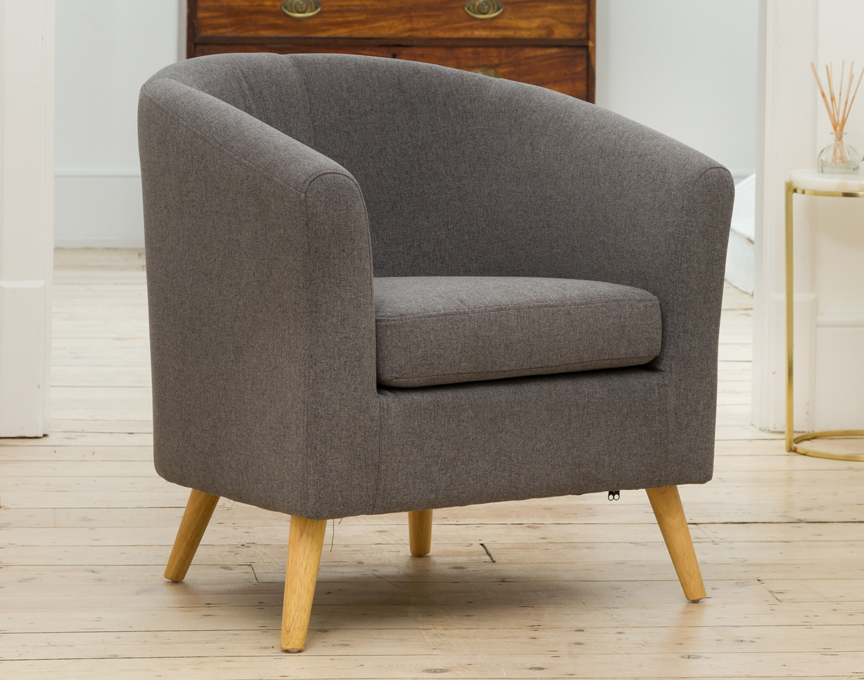 Wycombe tub chair grey
