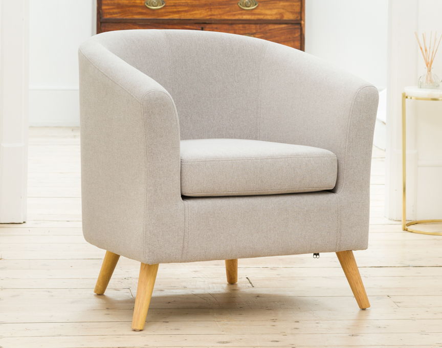 Wycombe tub chair light grey